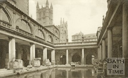 The Roman Great Bath, c.1930