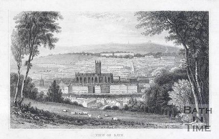 View of Bath, c.1840