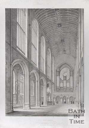 Bath Abbey Church, 1845