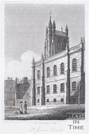 St. James's Church, Bath, 1818