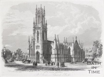 St. Stephen's Church, Bath, 1844