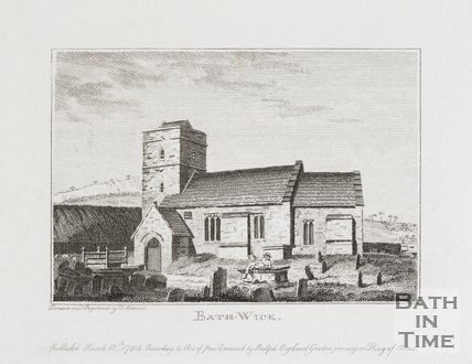 The Old Church at Bathwick, 1784