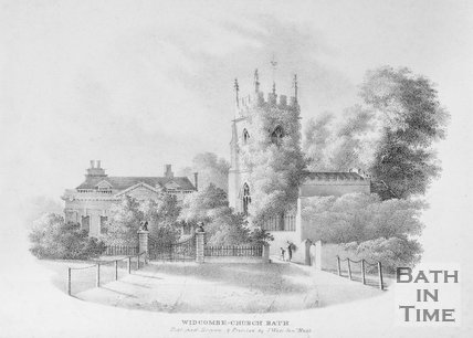 Widcombe Church, Bath, c.1830