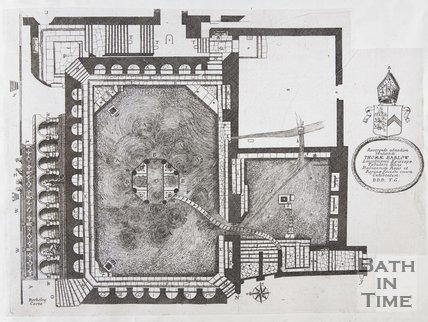 Plan of King's and Queen's Baths, 1691