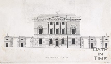 The Town Hall, Bath, c.1790