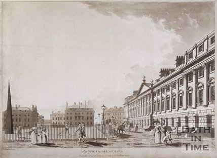 Queen Square at Bath, 1784