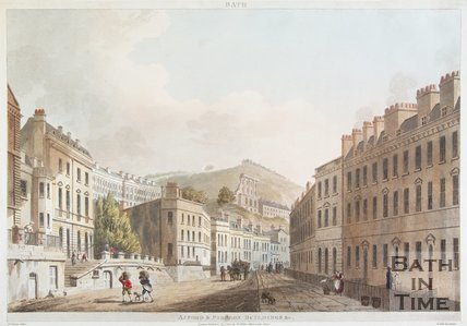 Axford & Paragon Buildings & c, Bath, 1804