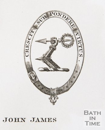 Bookplate of John James Chapman