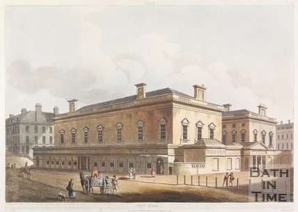 The Upper Assembly Rooms, Bath, 1805