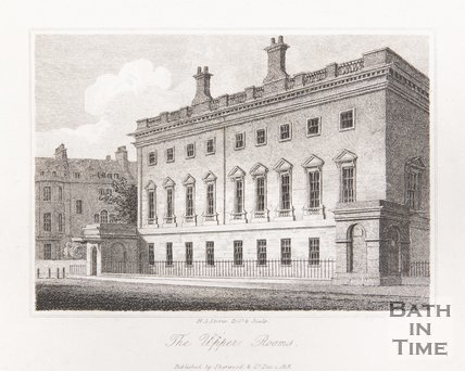 The Upper Assembly Rooms, Alfred Street, Bath, 1818