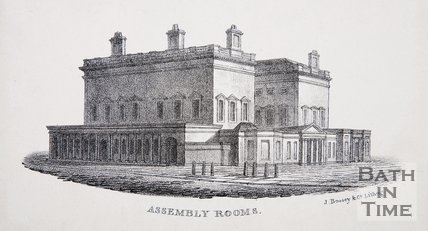 Assembly Rooms, Bath, 1823