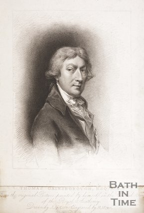 Portrait of Thomas Gainsborough Esq. R.A