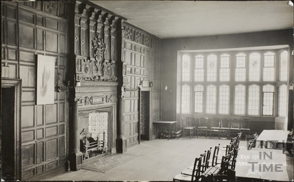 The Hall, Abbey Church House, 24 & 25, Westgate Buildings, Bath c.1930