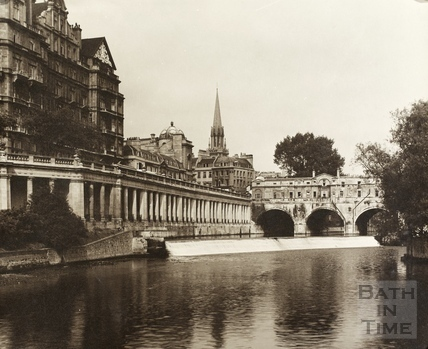 Empire Hotel, Grand Parade and Pulteney Bridge, Bath