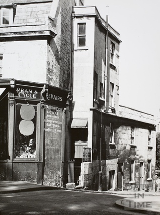 7, Claverton Buildings and 1, Alma Cottages, Spring Gardens Road, Widcombe, Bath 1965