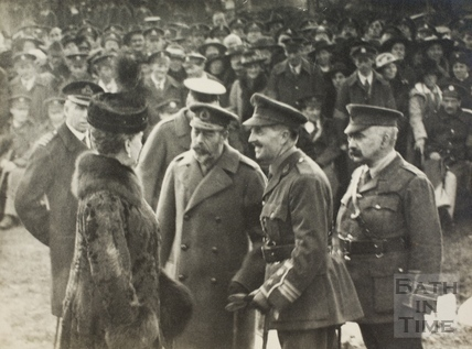 Visit of King George V and Queen Mary to Bath 1917