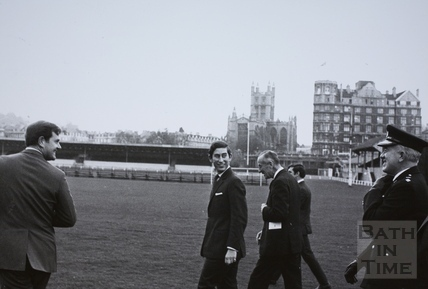 Prince of Wales visit to Bath 1972