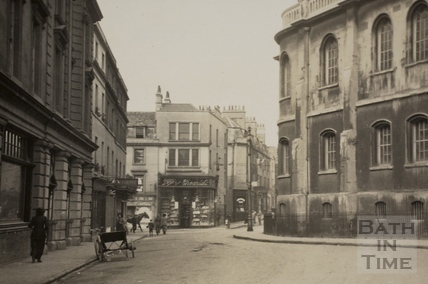 New Orchard Street, Bath c.1920 - detail