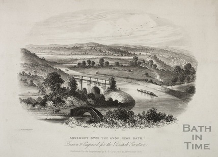 Aqueduct over the Avon near Bath c.1820