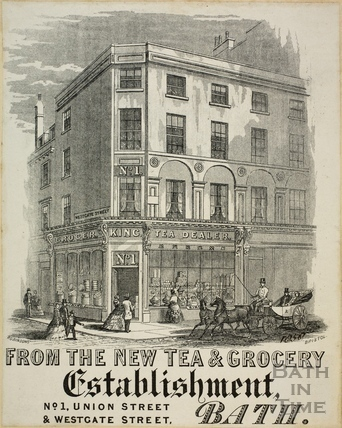 Joseph H. King, 1, Union Street, Bath c.1858