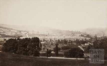 Larkhall and Grosvenor Place, Bath 1874