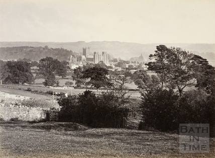 View of Wells and cathedral c.1870-1890