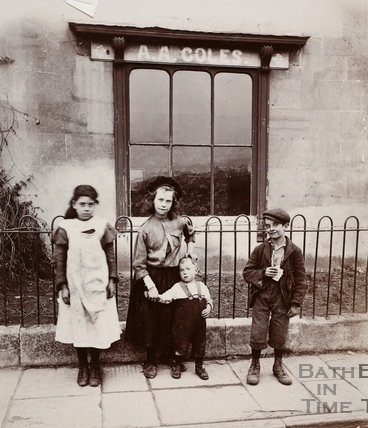A.A. Coles, 1, Rosebery Road, West Twerton, Bath? c.1900
