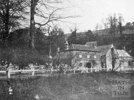 Tucking Mill Cottage and mill, Midford
