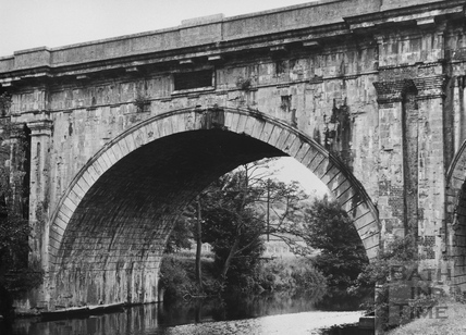 Detail of north elevation of Dundas Aqueduct