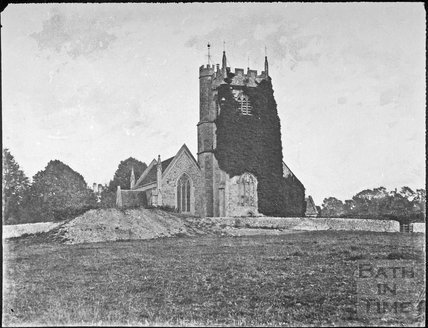 The Church of the Holy Trinity, Newton St. Loe 1858