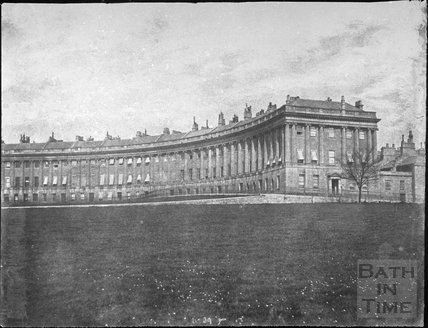 The Royal Crescent, Bath 1857