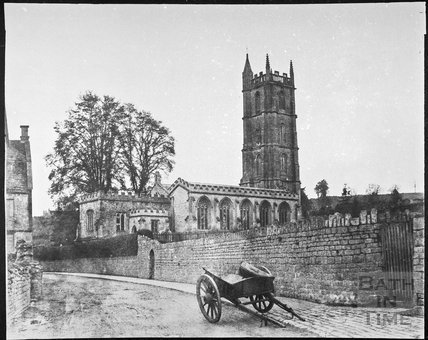 St. John the Baptist's Church, Batheaston 1854