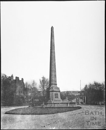 Obelisk, Royal Victoria Park, Bath 1857