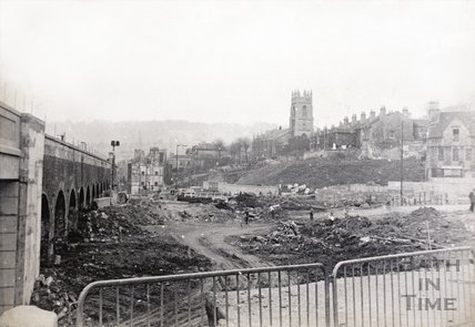 Holloway reconstruction scheme, Bath c.1965