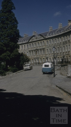 Somerset Place, Bath 1960s