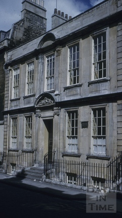 General Wolfe's House, 5, Trim Street, Bath 1956