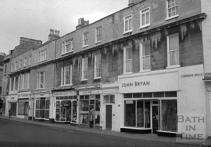 Terrace Walk, Bath 1960s