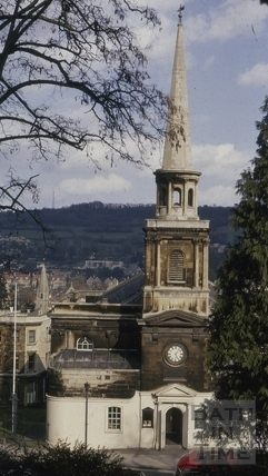 St. Swithin's Church, Walcot, Bath 1956
