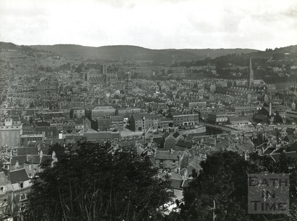 View of Bath from Beechen Cliff c.1920