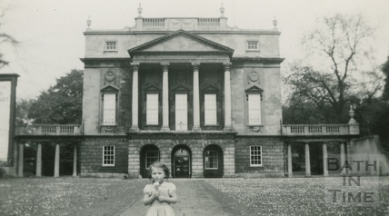 Outside the Holburne Museum, Bath 1950s