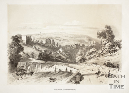 Bath from the Wells Road c.1839