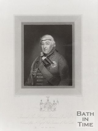 Engraving of General Sir Henry Johnson. Bart. G.C.B Colonel of the 5th Regiment of Foot, Governor of Ross Castle.