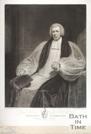 Portrait of George Henry Law D.D. Lord Bishop of Bath and Wells