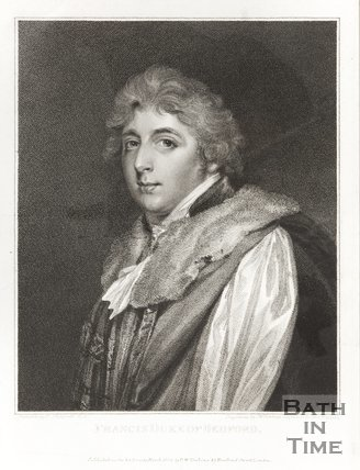 Engraving of Francis Duke of Bedford March 1802