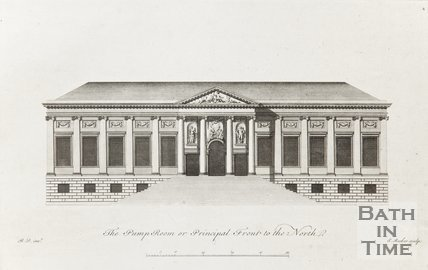 Pump Room or Principal Front to the North c.1781
