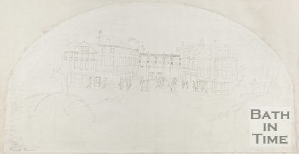 Pencil Sketch of Pump Rooms for Fan