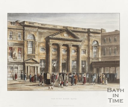 Pump Room Bath January 1st 1820