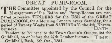 Great Pump Room 1854