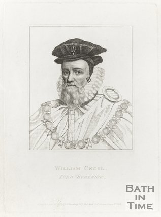 Portrait of William Cecil, Lord Burleigh (January 1798)