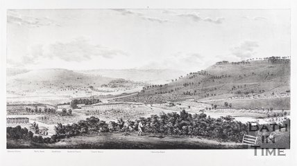 Panoramic View of Bath, from Beechen Cliff 1824